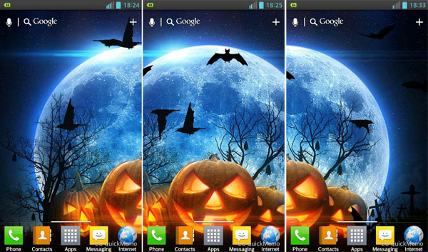 Free Halloween Android Live Wallpapers Animated