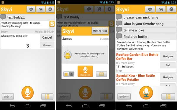 Skyvi Best Artificial Intelligence Software for Android