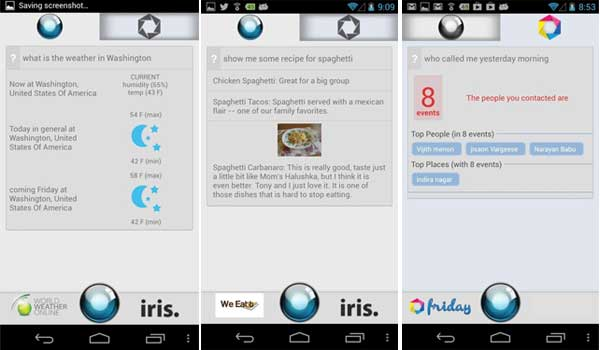 iris Best Artificial Intelligence Software for Android