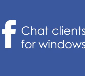 Facebook Chat Software for Windows