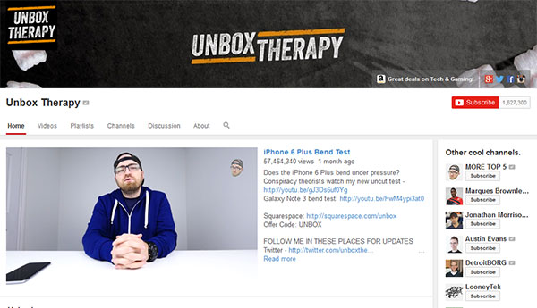 unbox-therapy-Best-Tech-Youtube-Channels-for-2015