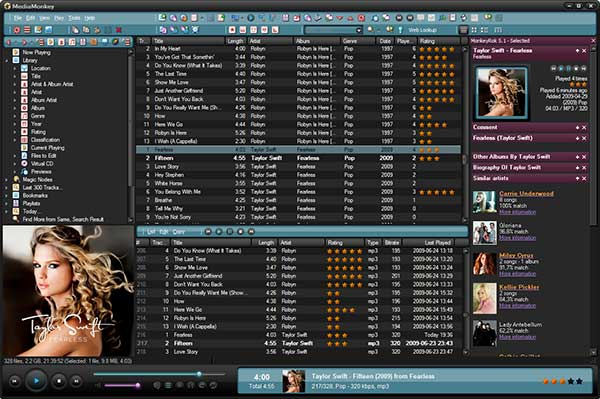 MediaMonkey Best Free Music Manager Software for Windows